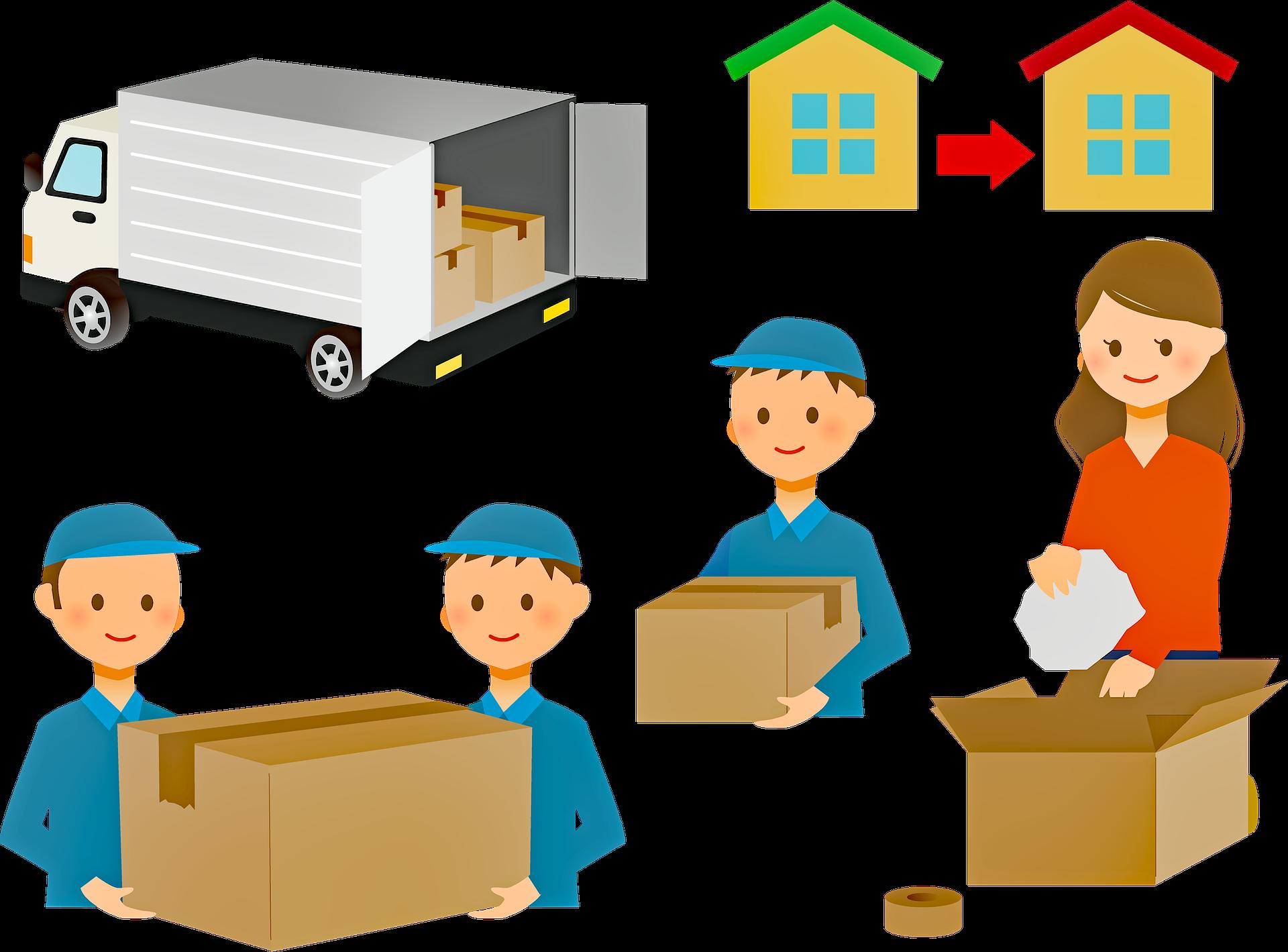 Stěhování bez námahy