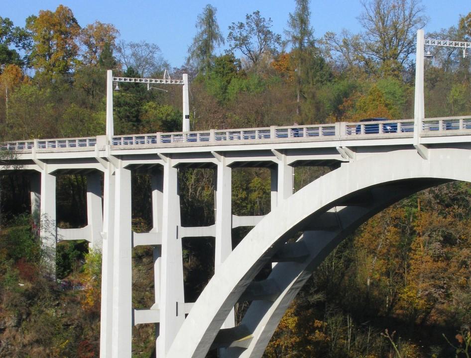 most Duha v Bechyni