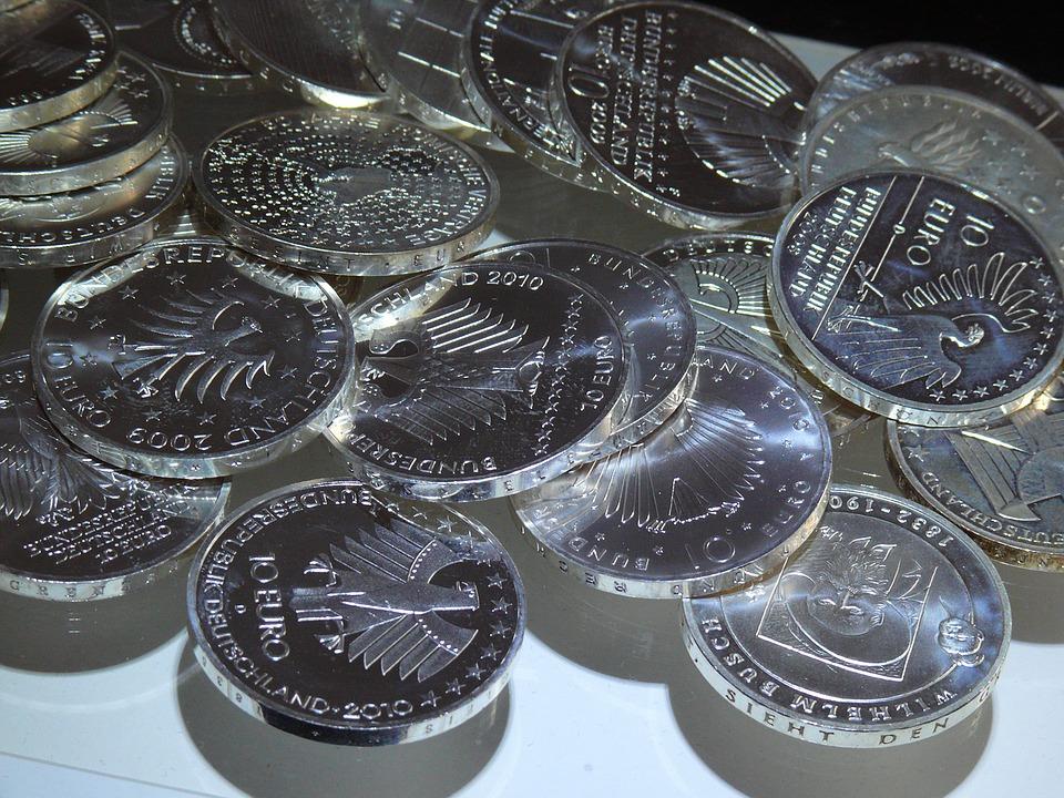 německé euromince